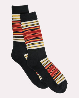 Pendleton National Park Stripe Crew Socks, Acadia