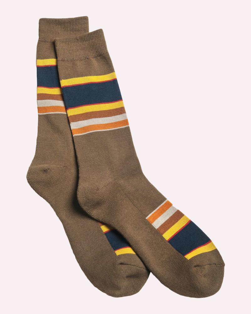 Pendleton National Park Stripe Crew Socks, Badlands