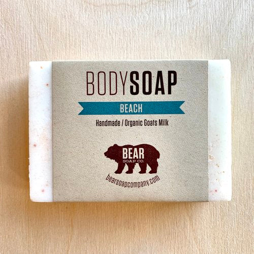 bear soap co body soap beach