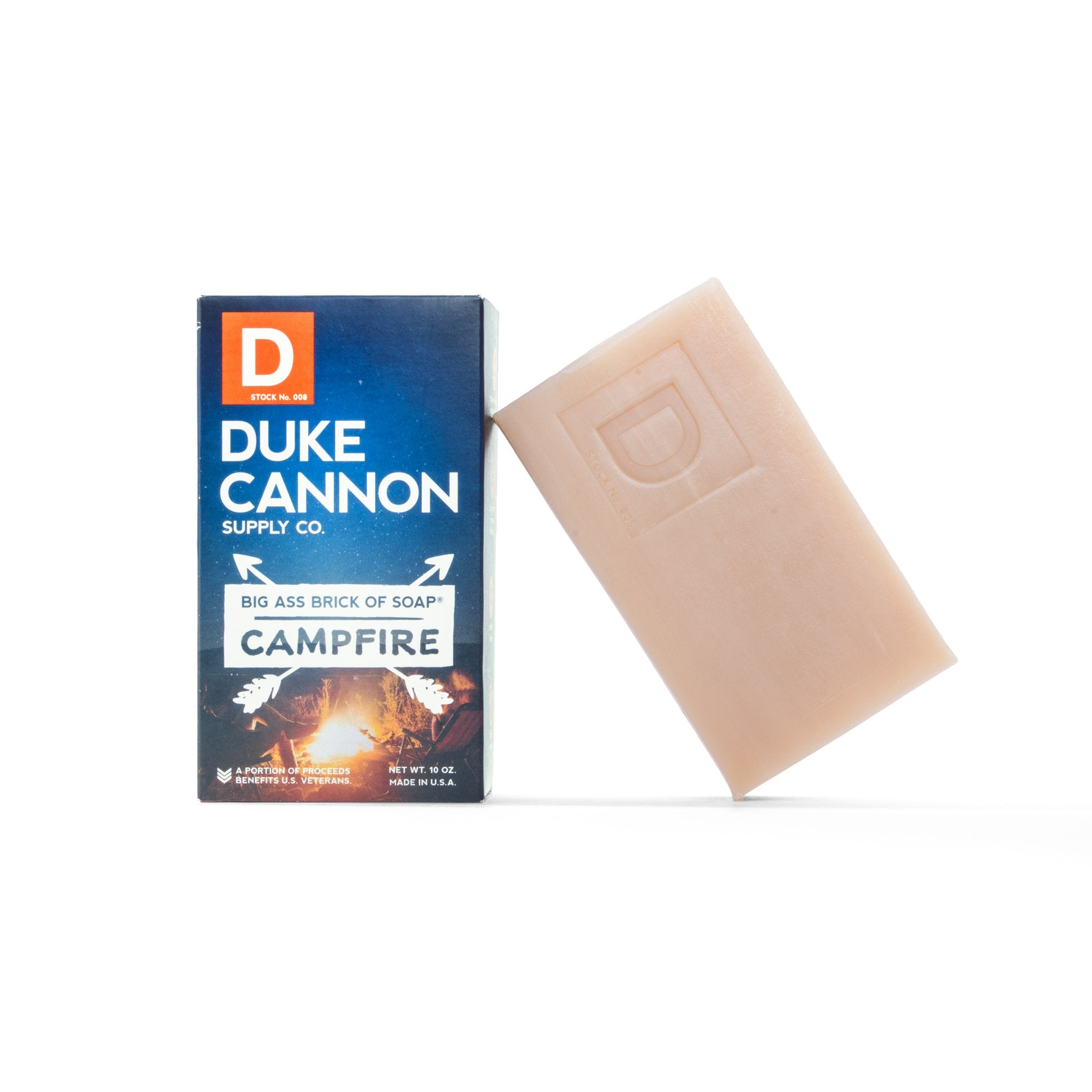 duke cannon big ass brick bar of soap campfire
