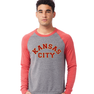 Sweatshirt Red/Grey | KC Arched