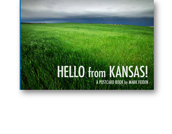 HELLO from KANSAS! postcard book