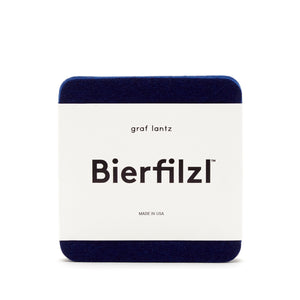 Ink Bierfilzl Square Felt Coaster