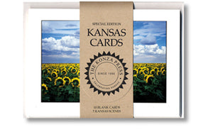 The Konza Press - Sunflower Notecard Set