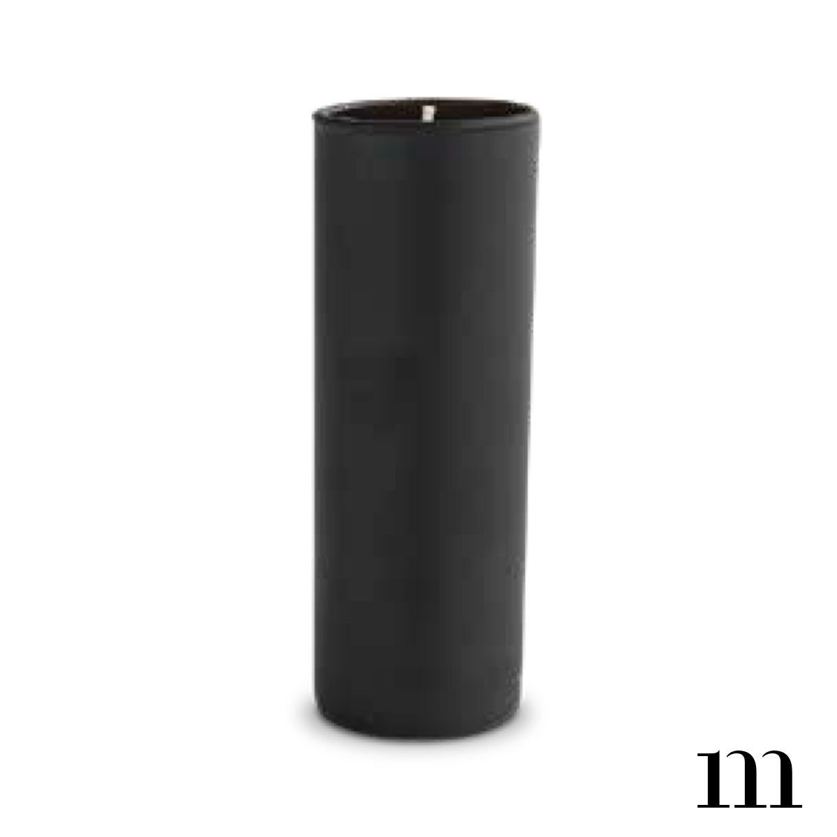 mixture man votive candle timber