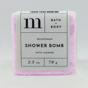 mixture shower bomb rejuvenate with jasmine