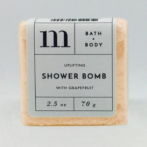 mixture shower bomb uplifting with grapefruit