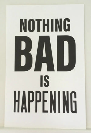 Mrs. Blandings Says - Nothing Bad is Happening Poster