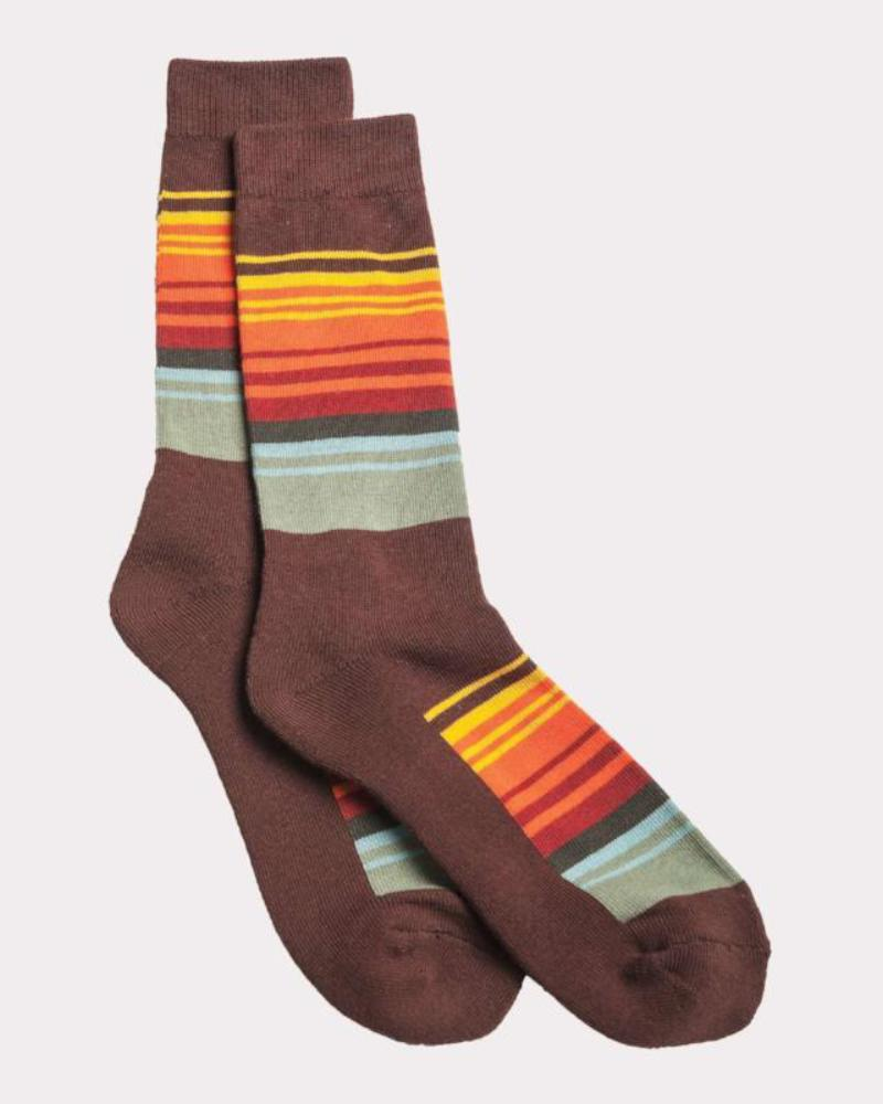 Pendleton National Park Stripe Crew Socks, Great Smokey Mountains