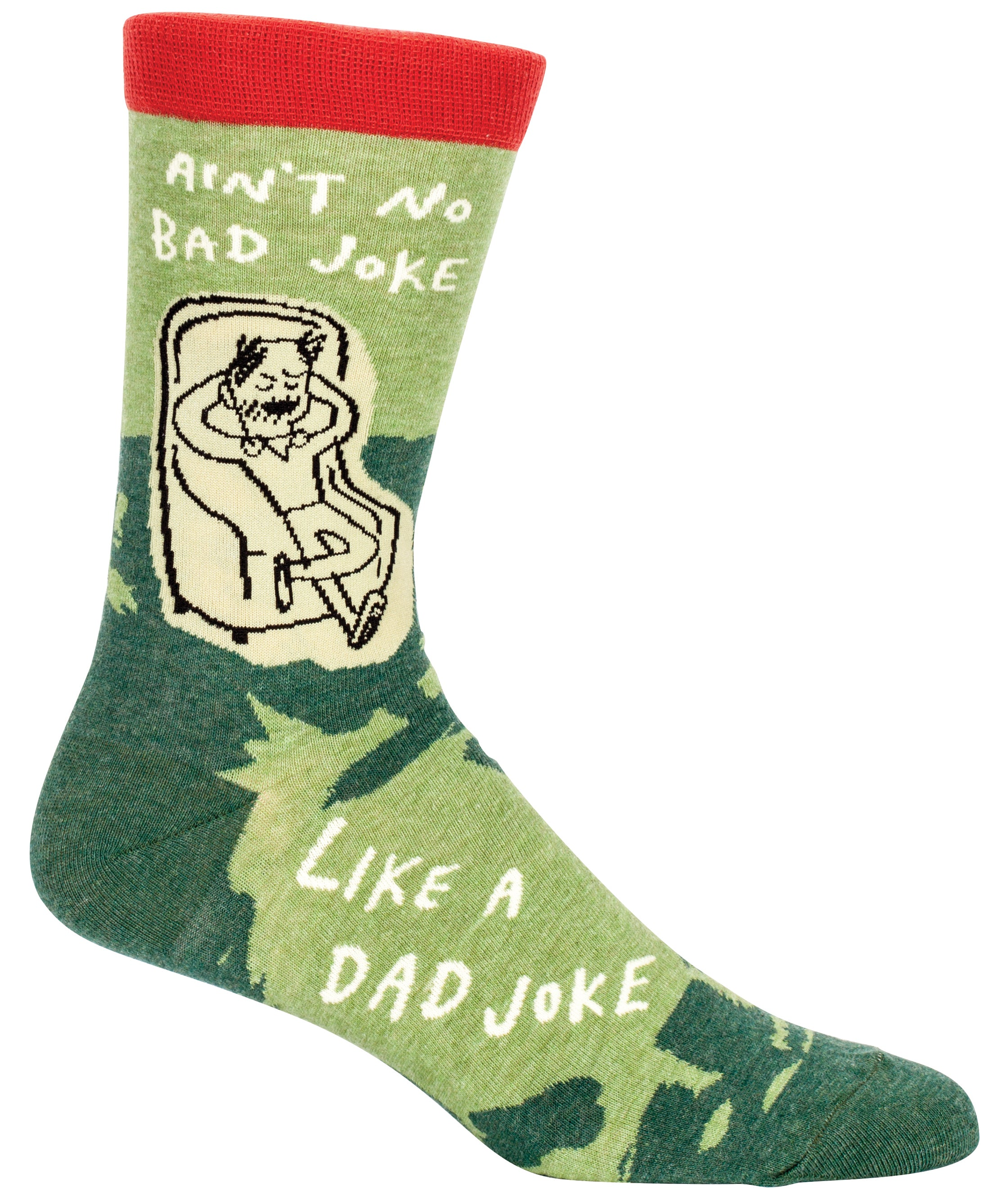 blue q mens socks dad joke