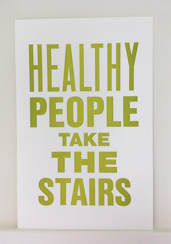 Mrs. Blandings Says - Stairs Poster