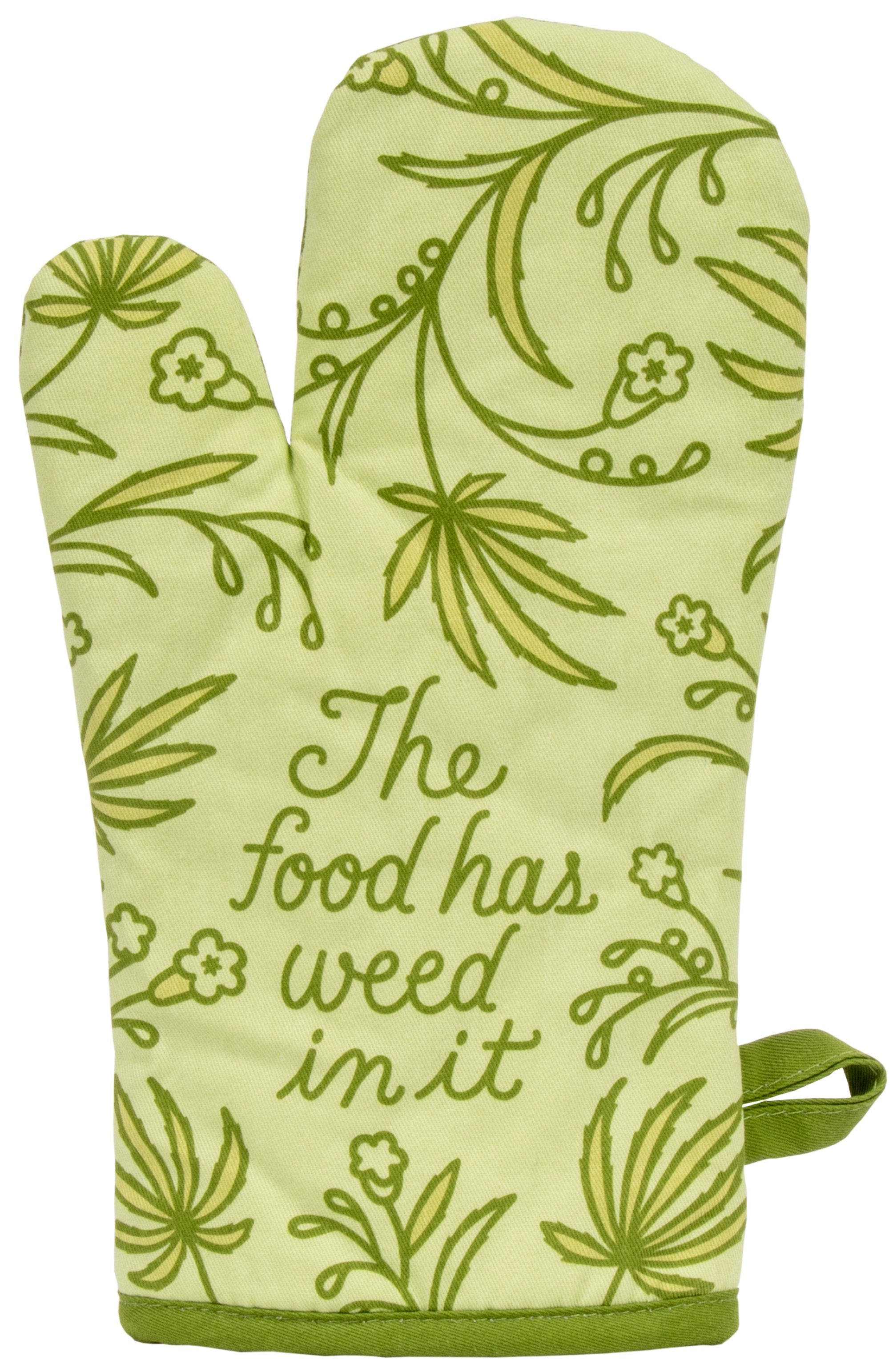 blue q oven mitts weed