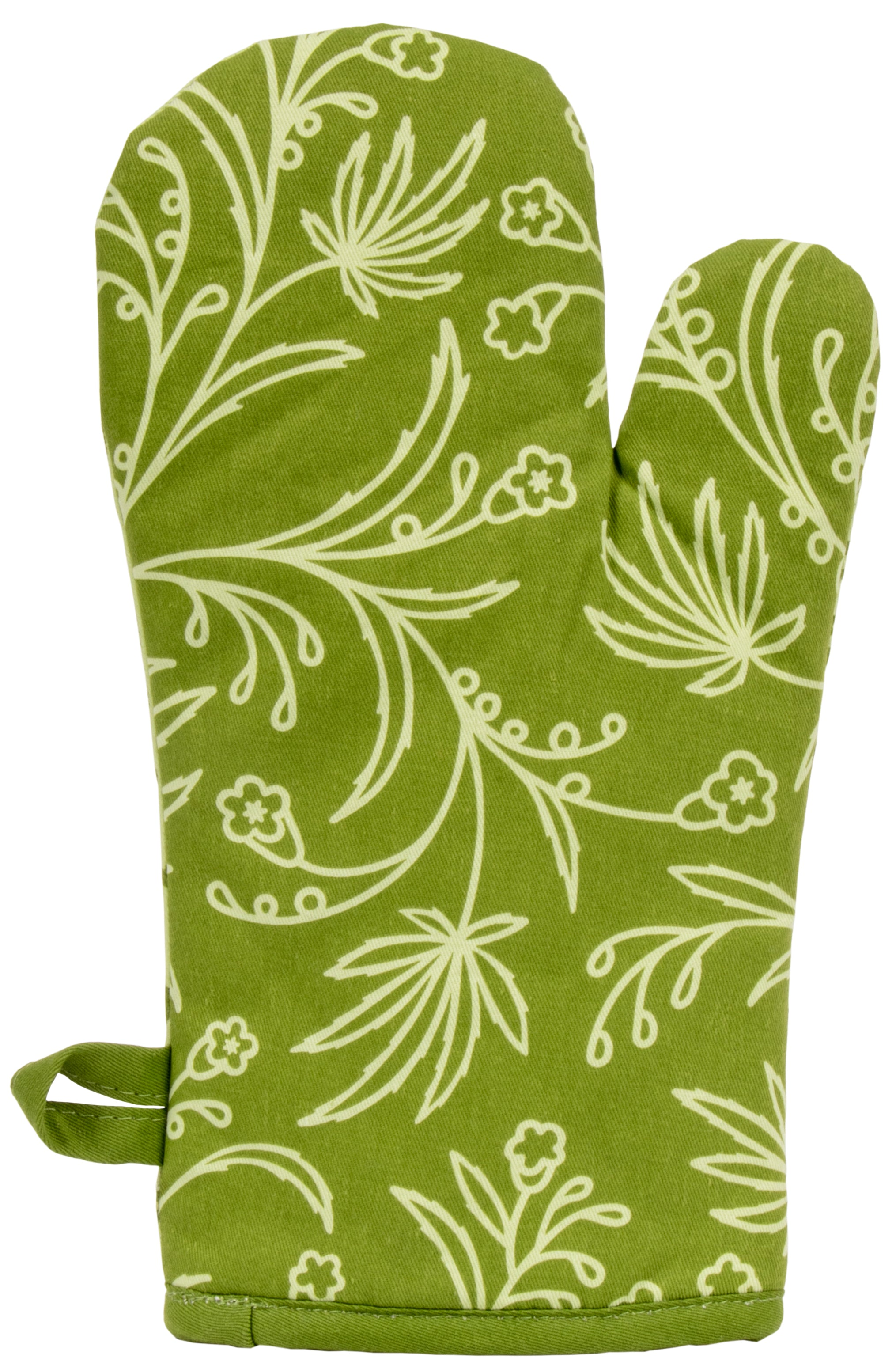 Blue Q Oven Mitt - Weed