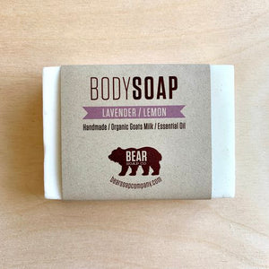bear soap co body wash lavender lemon