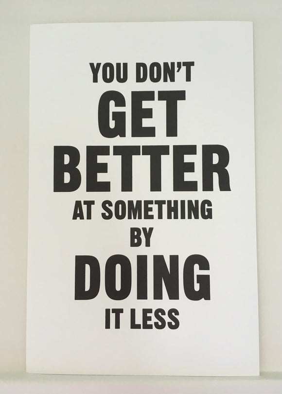 Mrs. Blandings Says - You Don't Get Better... Poster