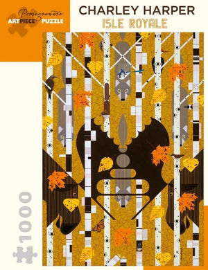 Charley Harper Isle Royale 1000-Piece Jigsaw Puzzle