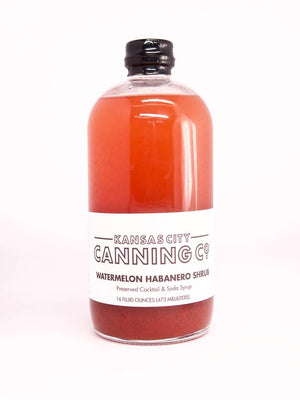 Kansas City Canning Co. Watermelon Habanero Shrub