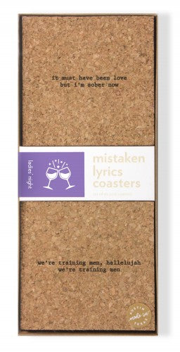 mistaken lyrics coaster set ladies night