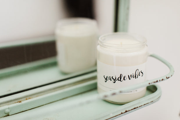 SEA SIDE VIBES SOY CANDLE