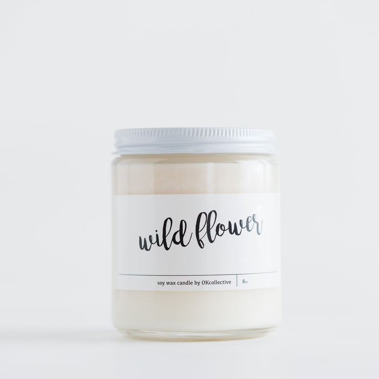 WILD FLOWER SOY CANDLE