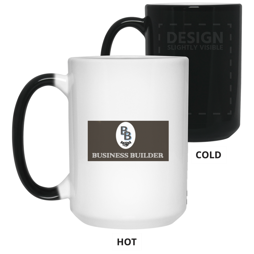 Business Builder 15 oz. Color Changing Mug