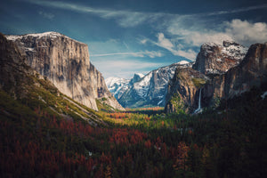 Tunnel View Yosemite Photography by Aniket Deole