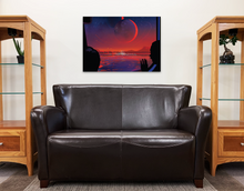 Load image into Gallery viewer, Trappist Retro Style NASA Poster Art on ABS