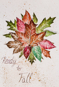 Ready To Fall By Tadia Franko