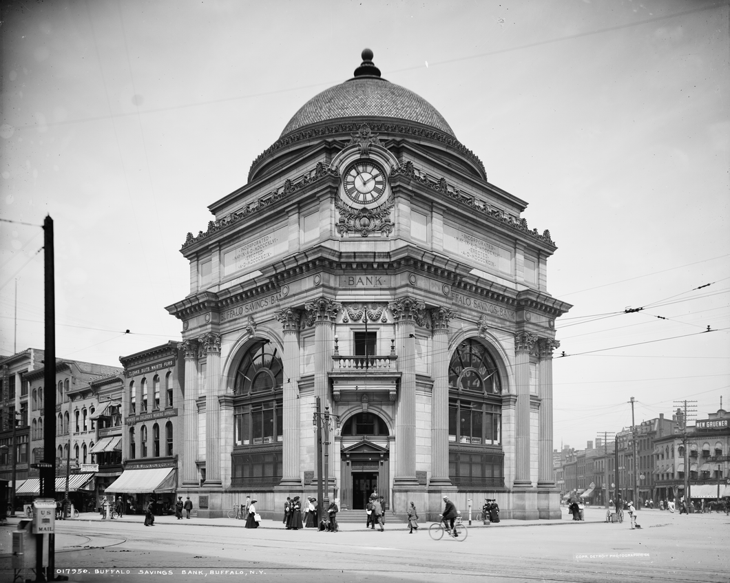 Buffalo Savings Bank Vintage Photography on ABS