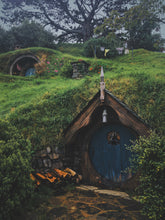 Load image into Gallery viewer, The Hobbit in Hobbiton New Zealand Photography on ABS by Jeff Finley