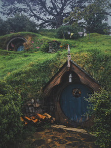 The Hobbit in Hobbiton New Zealand Photography on ABS by Jeff Finley