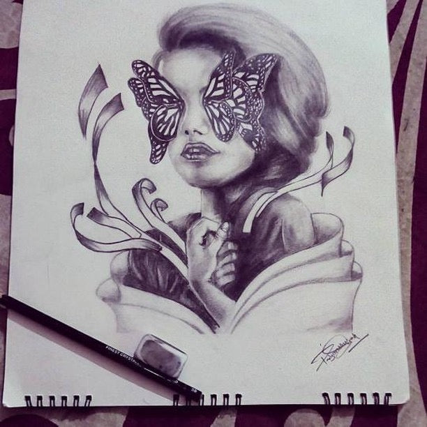 Butterflies For Eyes by Priyanshu