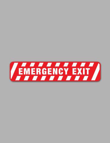 Emergency Exit - Safety Sign
