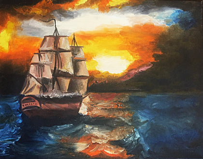 Sailing Home by Chelsea Curran
