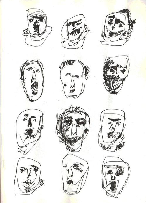Faces Without Names by Karla Radanović