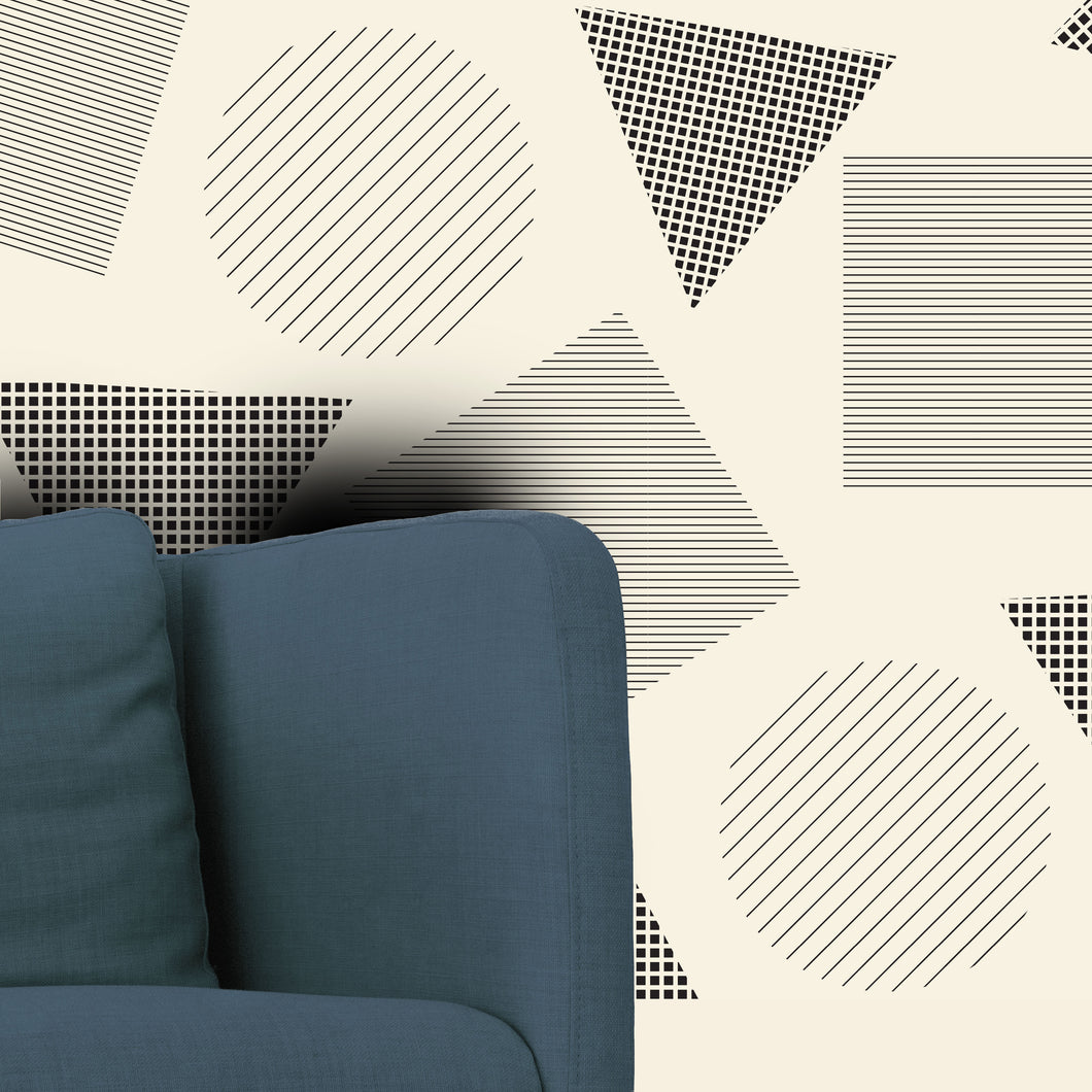 Wall Covering - The Geometric