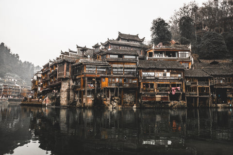 Chinese River Village Photography on ABS