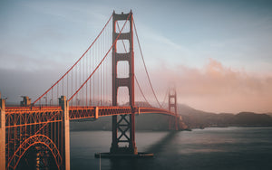Golden Gate Bridge Photography on ABS