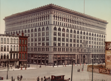 Load image into Gallery viewer, Ellicott Square Building Buffalo New York Vintage Photography on Acrylic Board Print