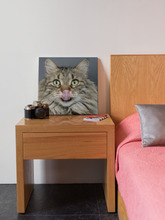 Load image into Gallery viewer, Adorable Hungry Cat Photography by Lina Angelov