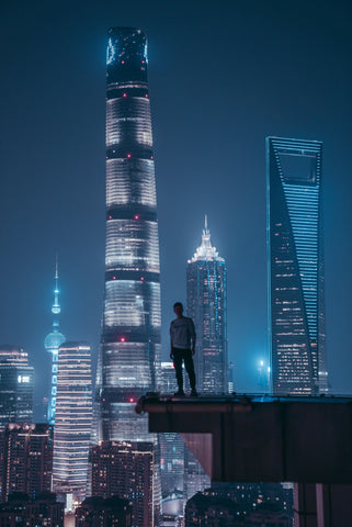 Shanghai Pudong Tower Photography on ABS
