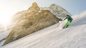 Ski Photography on ABS by Willem De Meyer