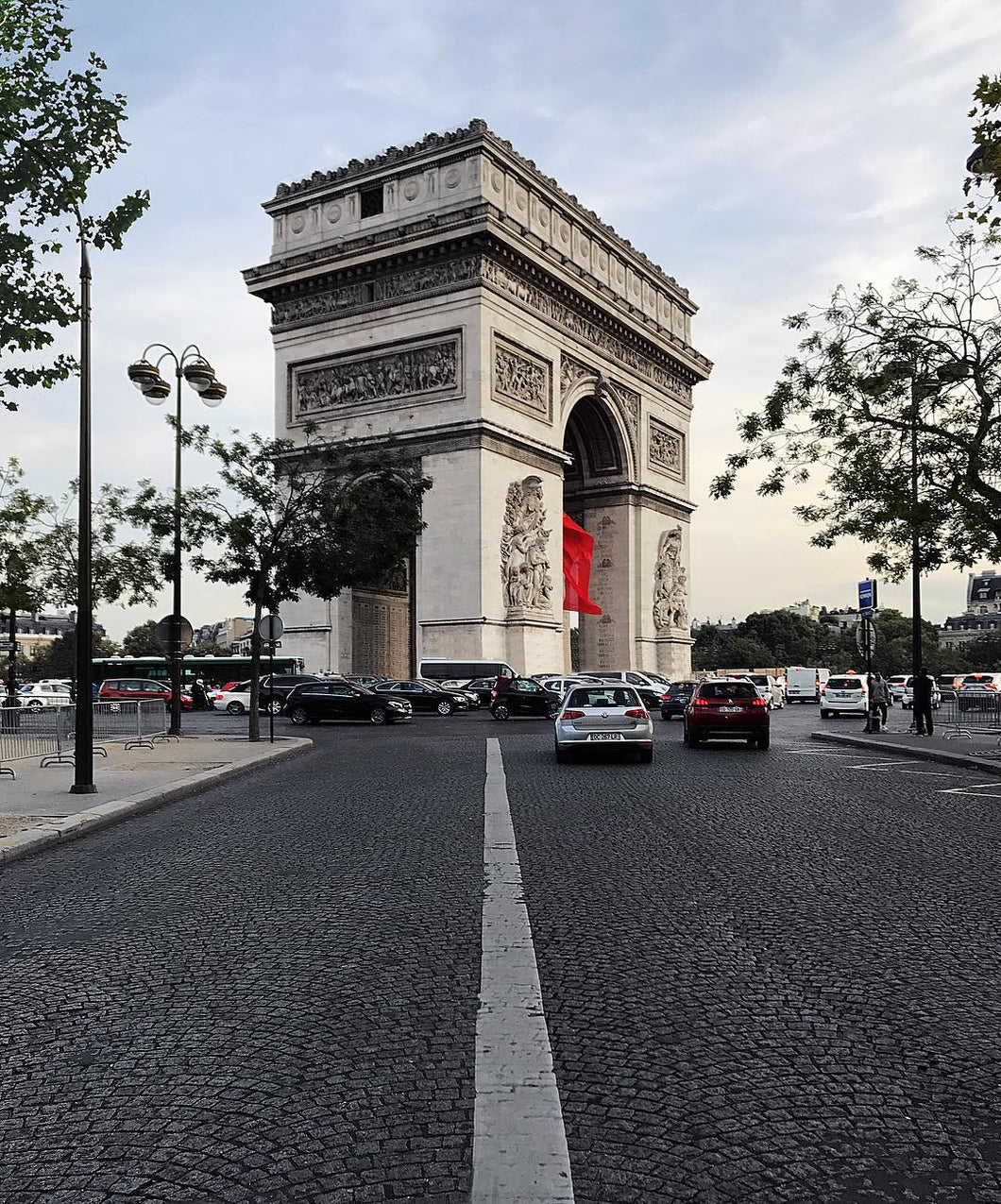 Road to Arc de Triomphe by S Ramgarhia