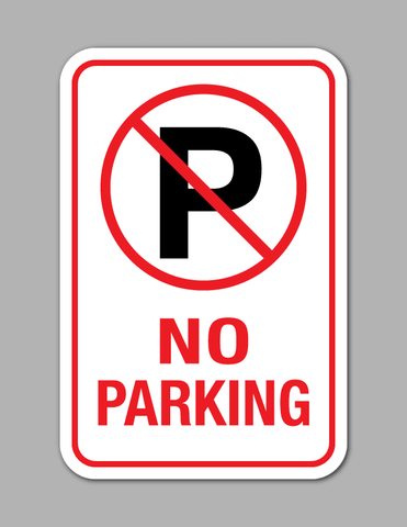 No Parking - Parking Sign
