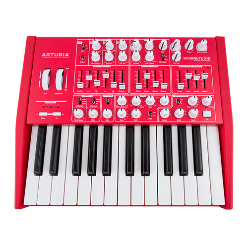 Arturia Minibrute SE Analog Synthesizer, Red