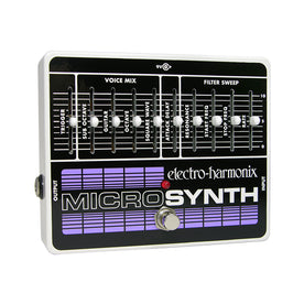 Electro-Harmonix Micro Synthesizer Guitar Effects Pedal