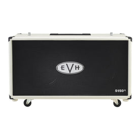 EVH 5150 2x12 Straight Guitar Extension Cabinet, Ivory