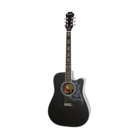 Epiphone Dave Navarro Jane Acoustic/Electric Guitar, Ebony Neck, Ebony