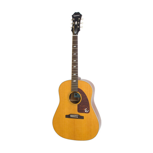 Epiphone Inspired by 1964 Texan Acoustic Guitar, Antique Natural