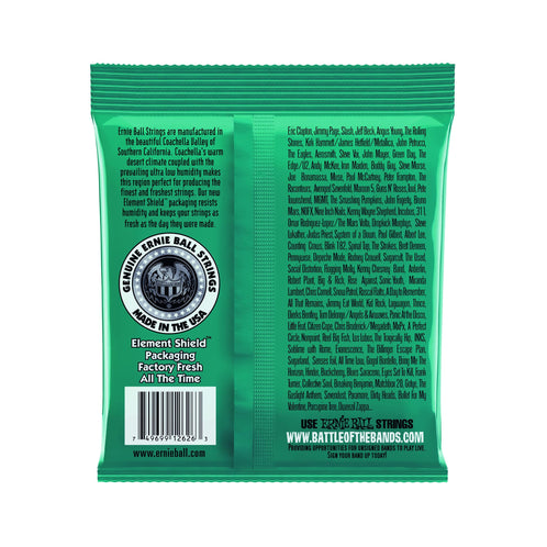 Ernie Ball Not Even Slinky Nickel Wound Electric Guitar Strings, 12-56